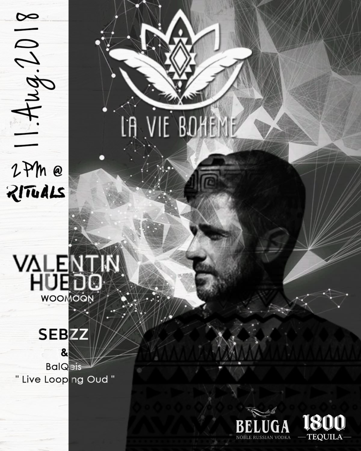 VALENTIN HUEDO at RITUALS (Egypt) August 11th