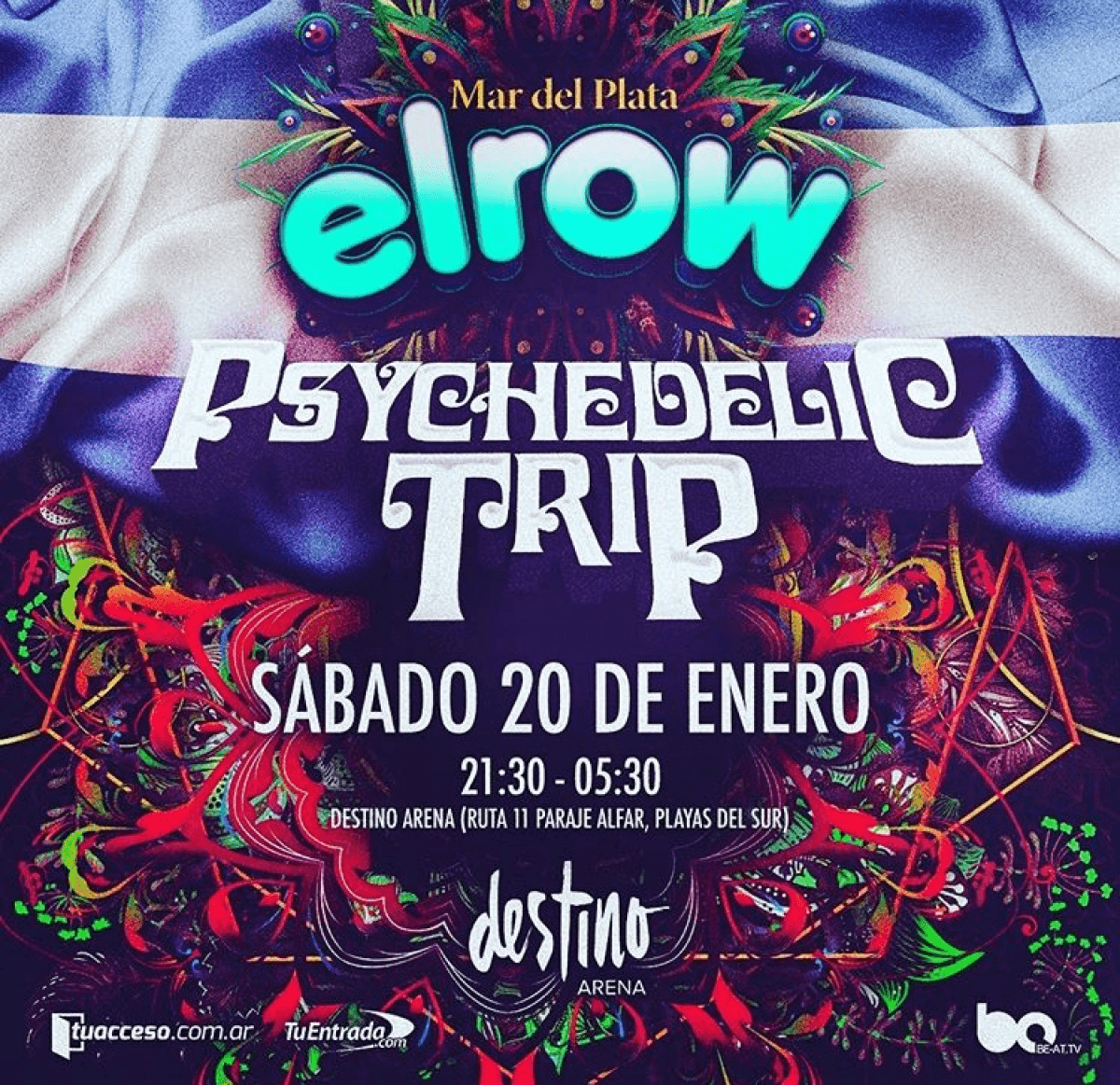 BAUM en el line up de elrow en Mar del Plata