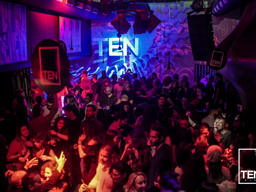 TEN Ibiza SHOWCASE at STK Ibiza December