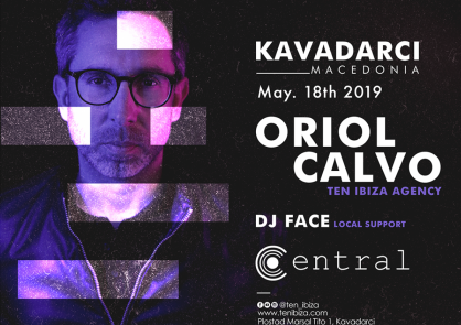 ORIOL CALVO at CENTRAL Club Macedonia