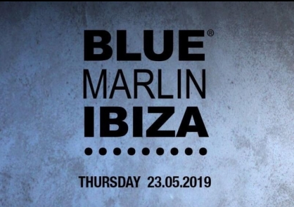 Sara de Araujo at BLUE MARLIN Ibiza with Eli Rojas