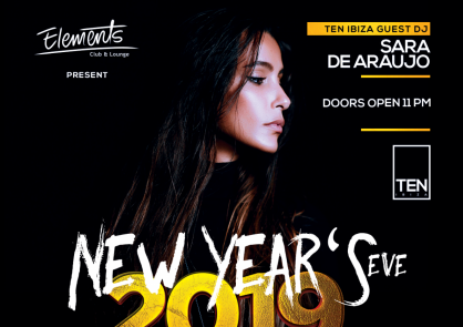 ELEMENTS (Egypt) NYE w/ SARA DE ARAUJO