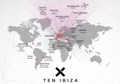 TEN Ibiza Agency destinations 2018